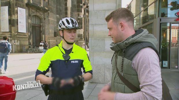 Achtung Kontrolle - Achtung Kontrolle! - Thema U.a: Fahrradpolizei Dresden - Stehen Bleiben!