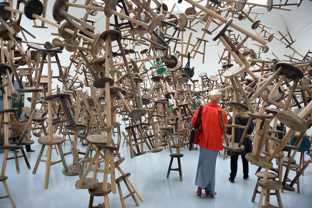 "Installation ""Bang"" - Ai Weiwei - Bildquelle: AFP PHOTO / GABRIEL BOUYS"