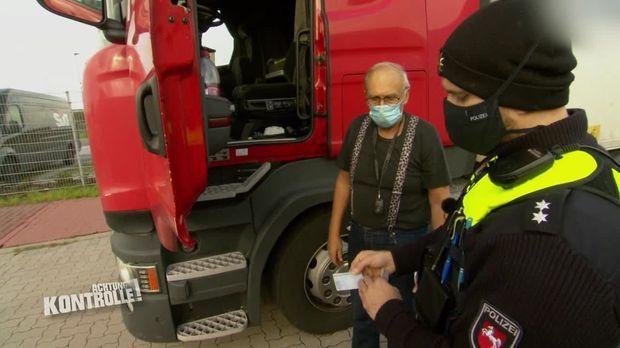Achtung Kontrolle - Achtung Kontrolle! - Thema U.a.: Keine Gültigen Papiere - Lkw Kontrolle Polizei Rotenburg