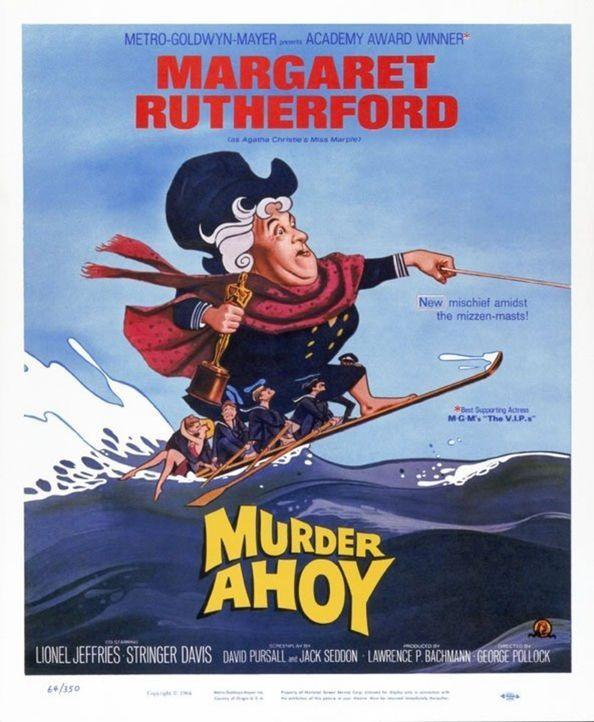 MURDER AHOY - Original-Plakat - Bildquelle: Warner Brothers