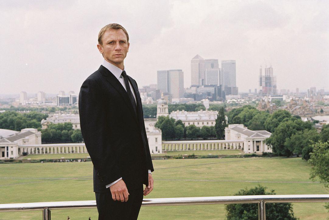 Soll die entführte Tochter eines Freundes retten: der Namenlose (Daniel Craig) ... - Bildquelle: 2004 Columbia Pictures Industries, Inc. All Rights Reserved.