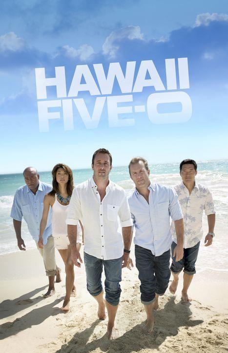 (6. Staffel) - Kämpfen gegen das organisierte Verbrechen auf den sonnenverwöhnten Stränden von Hawaii: Steve (Alex O'Loughlin, M.), Danny (Scott Caa... - Bildquelle: 2016 CBS Broadcasting Inc. All Rights Reserved.
