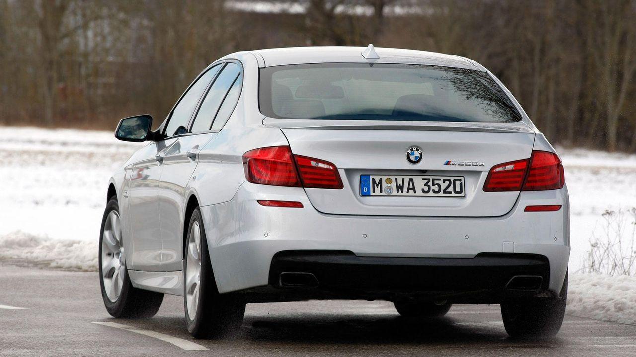 BMW M550D - Bildquelle: BMW