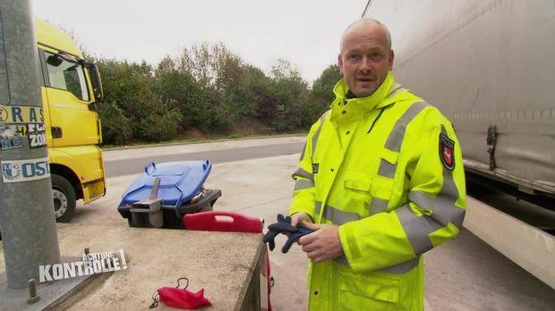 Achtung Kontrolle - Achtung Kontrolle! - Thema U.a.: Gefahr Durch Kaputte Bremsen - Lkw Kontrolle Osnabrück