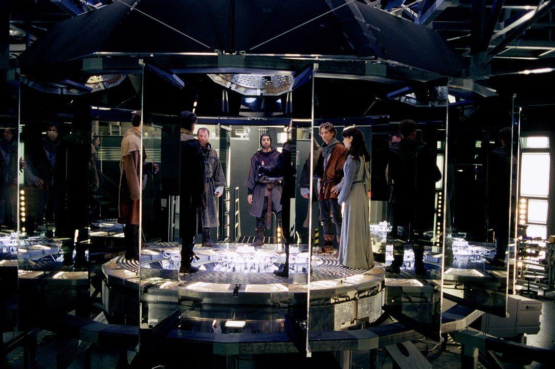 Es ist den Forschern gelungen, eine Maschine zu erfinden, die es möglich macht, jeden beliebigen Gegenstand oder Organismus an jeden Ort der Erde zu... - Bildquelle: Concorde Filmverleih GmbH