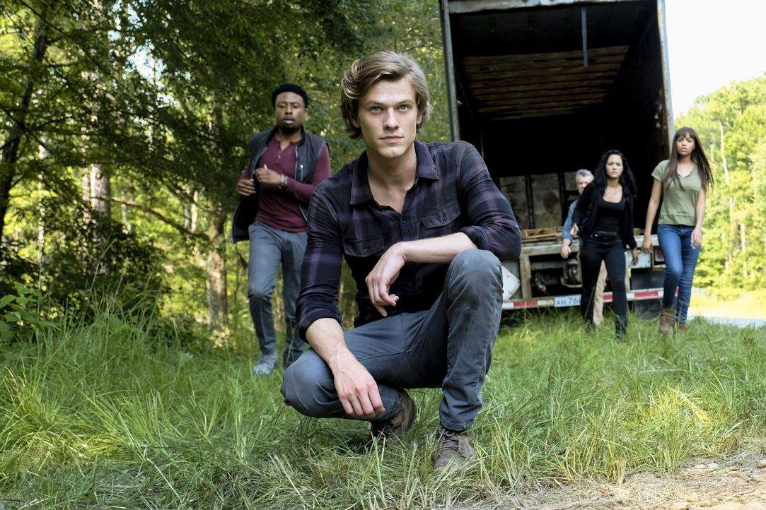 MacGyver (Lucas Till) - Bildquelle: Guy D'Alema 2018 CBS Broadcasting, Inc. All Rights Reserved. / Guy D'Alema