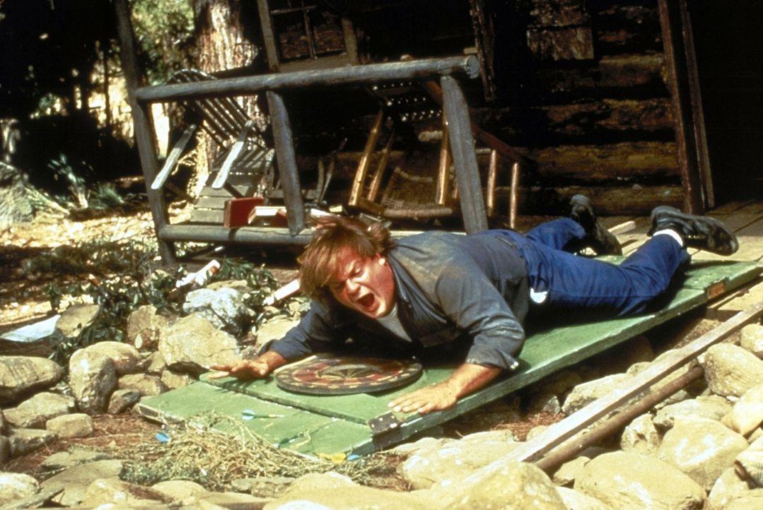 Gouverneur-Kandidat Al Donnelly schickt seinen unberechenbaren Bruder Mike (Chris Farley) zusammen mit einem Aufpasser in eine abgelegene Waldhütte.... - Bildquelle: Paramount Pictures