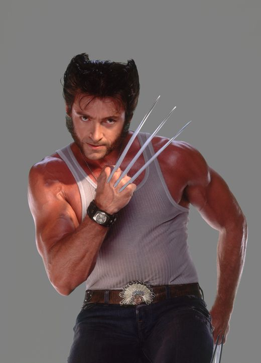 Im Kampf gegen finstere Mächte: Wolverine (Hugh Jackman) ... - Bildquelle: 20th Century Fox International Television