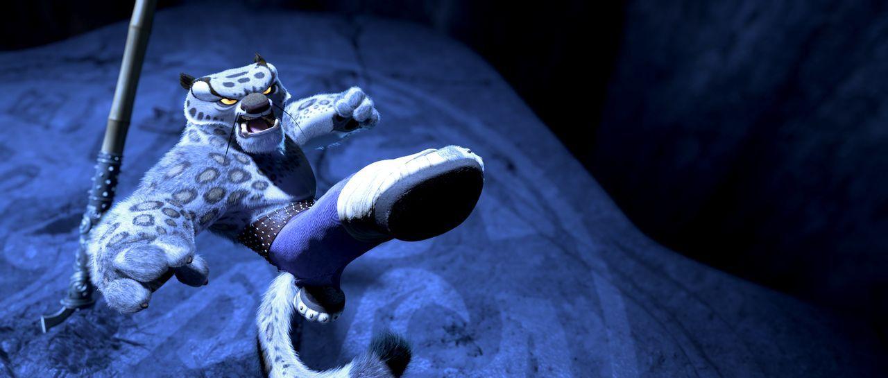 Nachdem er 20 Jahre in dem Chorh-Gom Gefängnis verbracht hat, schafft es Tai Lung zu flüchten. Sofort richtet er neues Unheil an ... - Bildquelle: Paramount Pictures