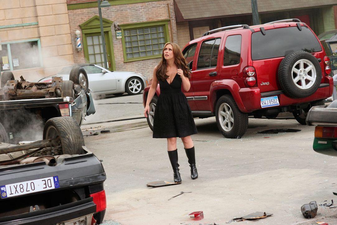 Melinda (Jennifer Love Hewitt) wird von  furchtbaren Visionen heimgesucht. In ihnen  stürzt eine Brücke in Italien ein, vor der englischen Küste ken... - Bildquelle: ABC Studios