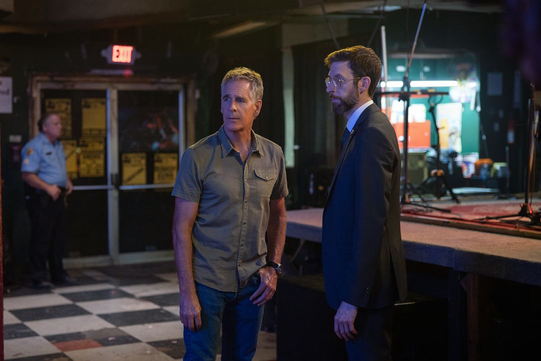 Dwayne Pride (Scott Bakula, l.); Sebastian Lund (Rob Kerkovich, r.) - Bildquelle: Sam Lothridge 2019 CBS Broadcasting Inc. All Rights Reserved. / Sam Lothridge