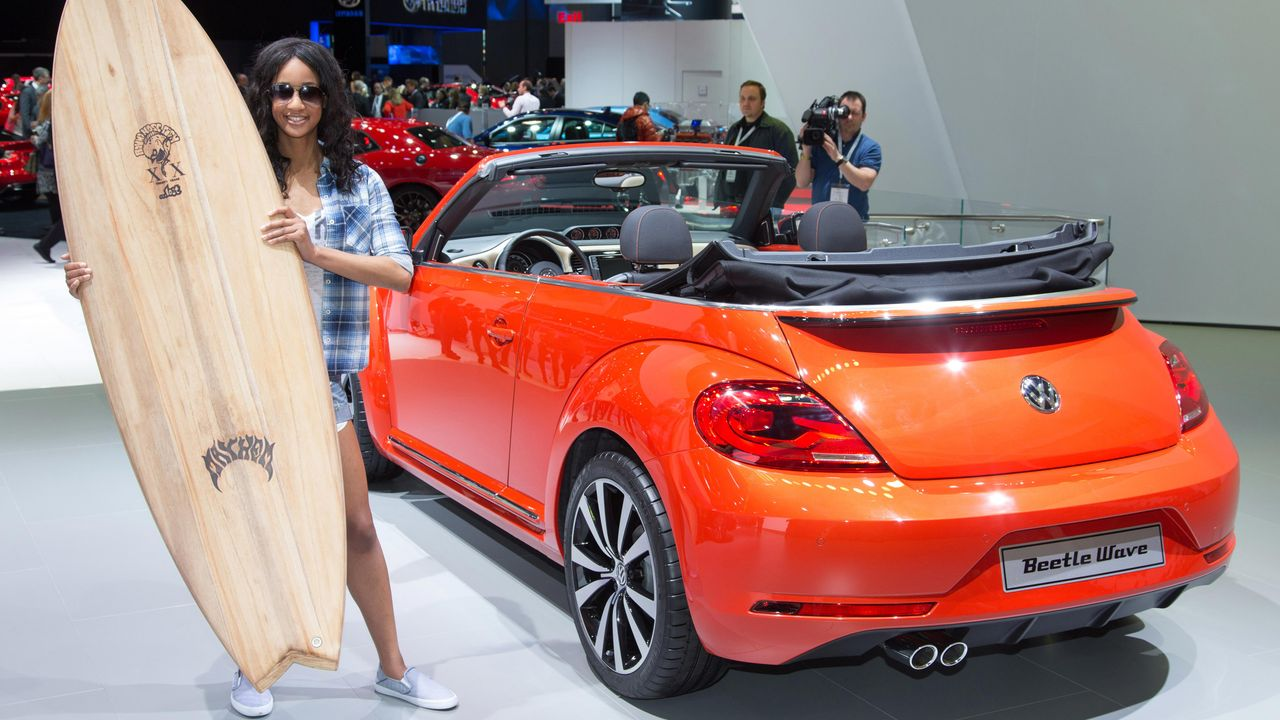 Beetle Cabriolet Wave - Bildquelle: Volkswagen AG