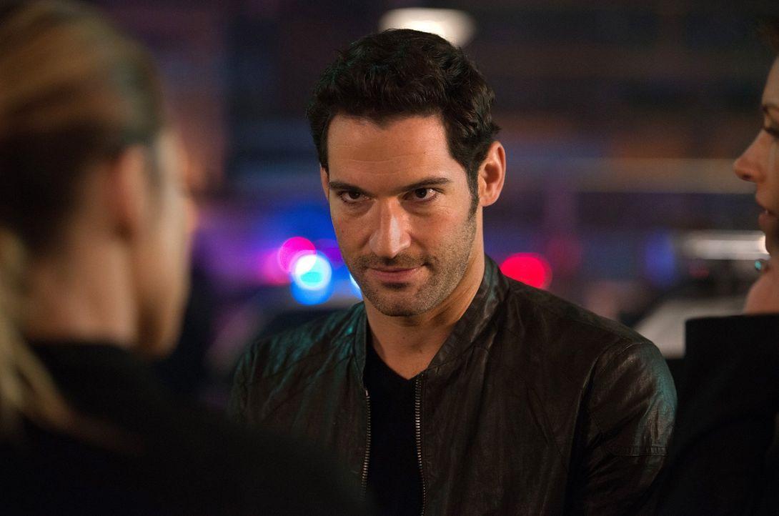 Die Verzweiflung darüber, dass Chloe nicht mit ihm schlafen will, bringt Lucifer (Tom Ellis) schließlich sogar dazu, ihren neusten Fall zu gefährden... - Bildquelle: 2016 Warner Brothers