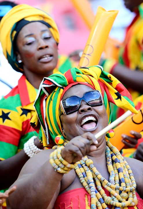 Fussball-Fans-Ghana-130128-AFP - Bildquelle: AFP