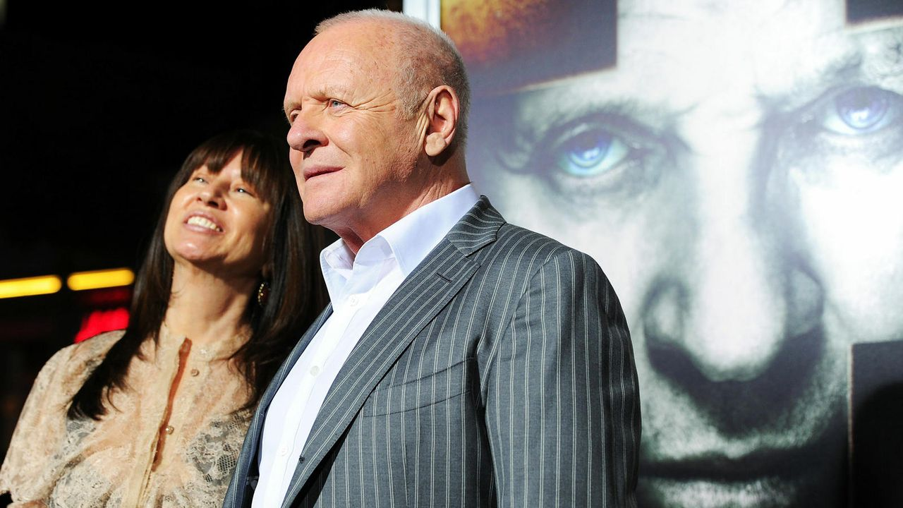 Anthony Hopkins und Stella Arroyave - Bildquelle: getty AFP