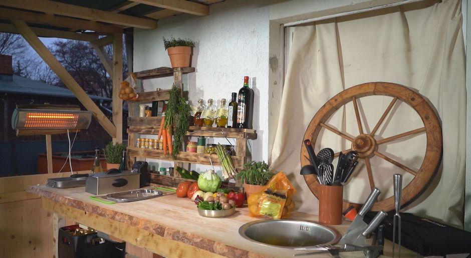 Outdoor Küche Steinmauer : D i y mit kenny und achim outdoorküche abenteuer leben