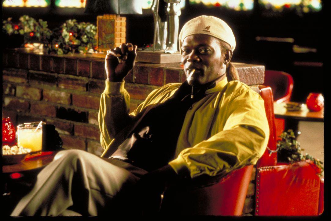 Ordell Robbi (Samuel L. Jackson) - Bildquelle: 1997 Mighty Mighty Afrodite Productions, Inc.