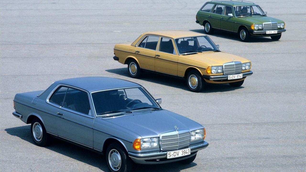Klassiker mit besonderem Kult-Faktor: W 123 - Bildquelle: Mercedes