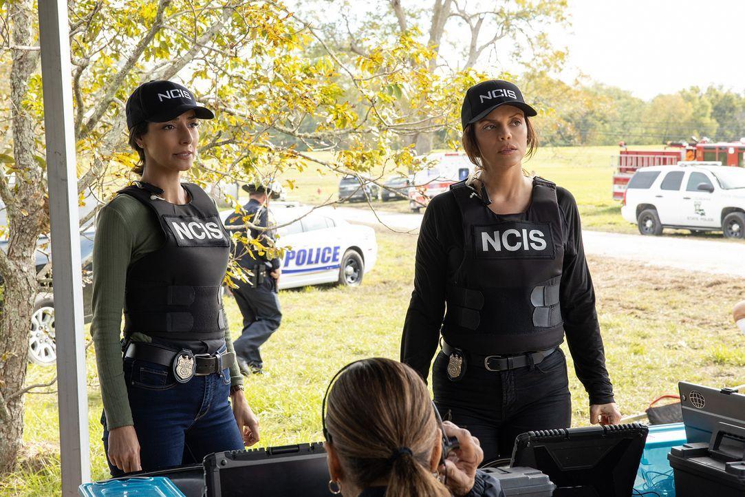 Special Agent Hannah Khoury (Necar Zadegan, l.); FBI Special Agent Tammy Gregorio (Vanessa Ferlito, r.) - Bildquelle: Sam Lothridge 2019 CBS Broadcasting Inc. All Rights Reserved. / Sam Lothridge