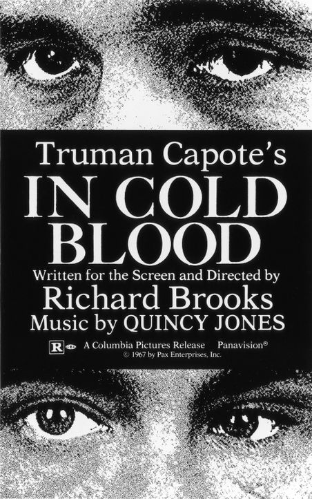 """IN COLD BLOOD"" - Originaltitel Plakat - Bildquelle: 1967, renewed 1995 Pax Enterprises, Inc. All Rights Reserved."