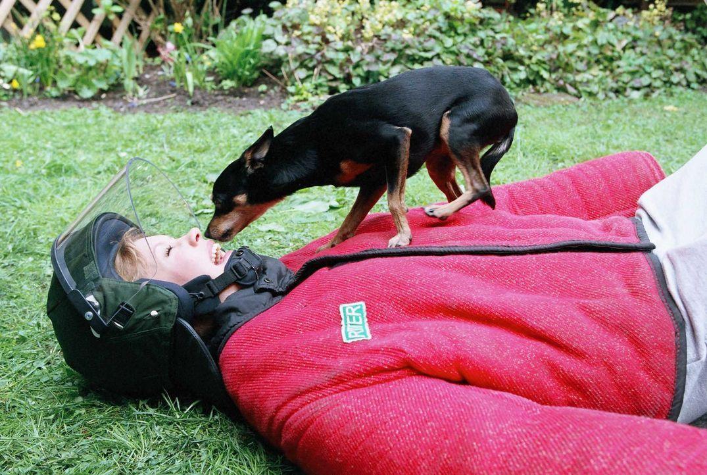Unter die Hunde gekommen: Lisa (Wolke Hegenbarth) ... - Bildquelle: Erika Hauri ProSieben