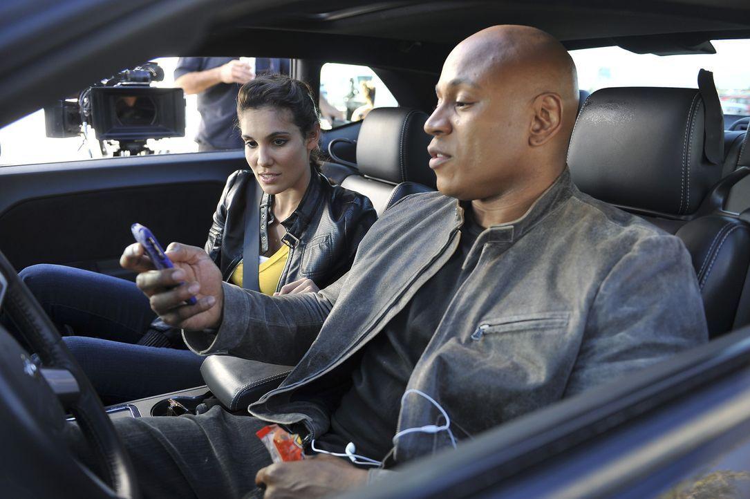 Ein neuer Fall, bei dem ein U.S. Navy getötet wurde, beschäftigt Sam (LL Cool J, r.) und Kensi (Daniela Ruah, l.) ... - Bildquelle: CBS Studios Inc. All Rights Reserved.