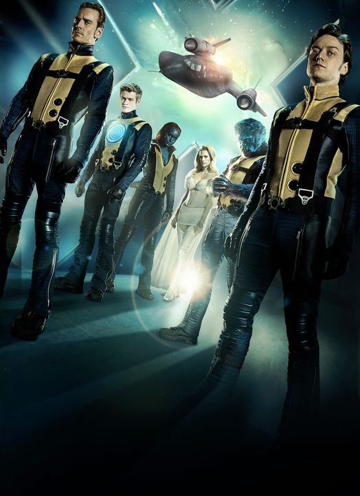 X-MEN: ERSTE ENTSCHEIDUNG - Artwork - Bildquelle: TM and © 2011 Twentieth Century Fox Film Corporation, All Rights Reserved.
