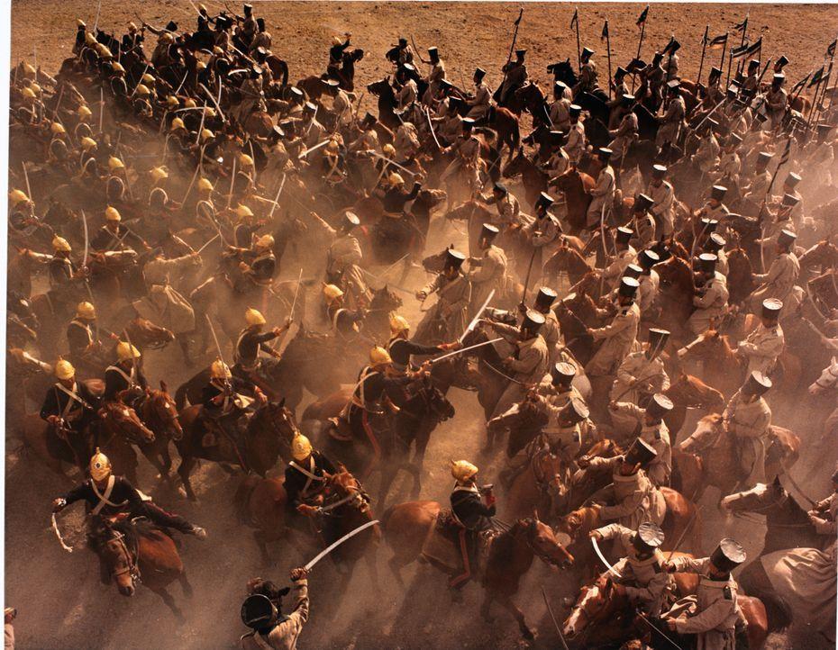 Als es zu der alles entscheidenden Schlacht kommt, rennen die britischen Soldaten ihren Feinden blindwütig in die Arme und werden gnadenlos niederg... - Bildquelle: 1968 WOODFALL AMERICA, INC. All Rights Reserved.