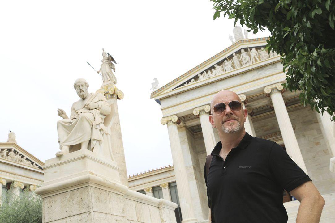 Zum Auftakt der neuen Staffel deckt Peter Giesel dreiste Abzocker-Maschen in der griechischen Hauptstadt Athen und auf Kreta auf. - Bildquelle: kabel eins