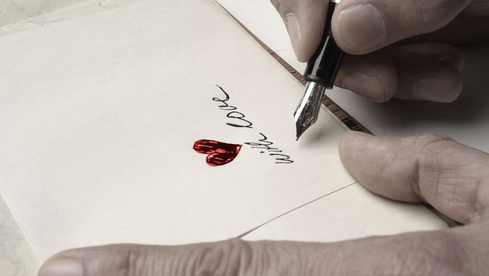 ein liebesbrief schreiben