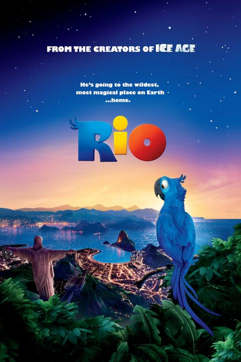 Rio - Plakatmotiv - Bildquelle: 2011 Twentieth Century Fox Film Corporation. All rights reserved.