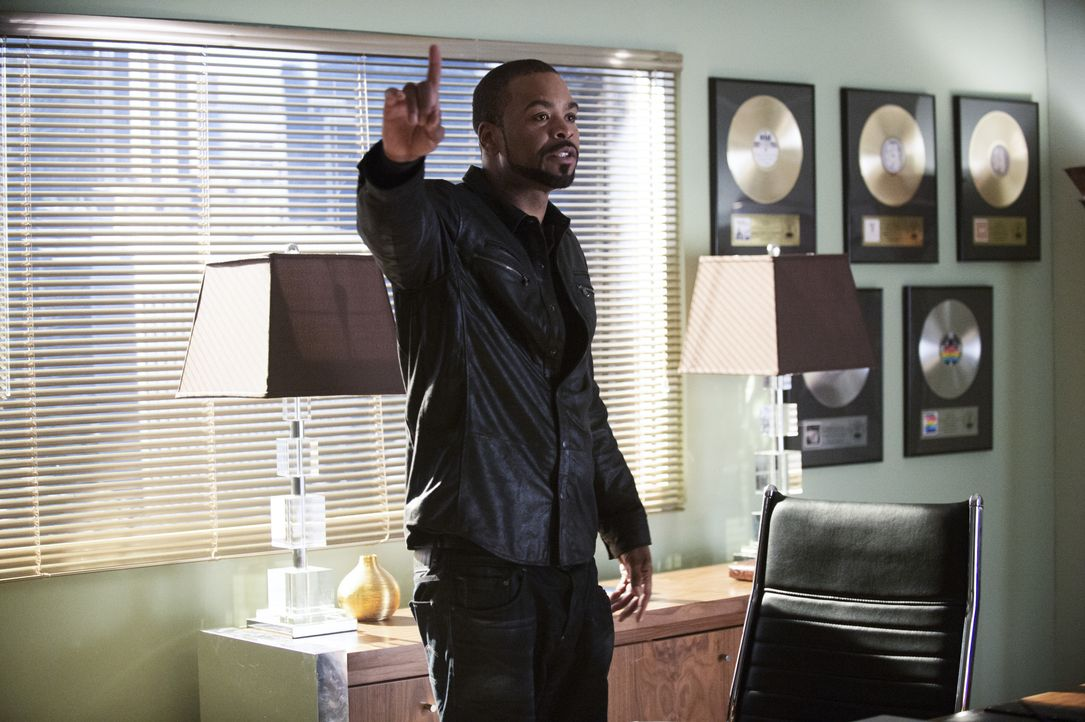Was führt Lucky the King (Method Man) im Schilde? - Bildquelle: Neil Jacobs 2014 CBS Broadcasting, Inc. All Rights Reserved / Neil Jacobs