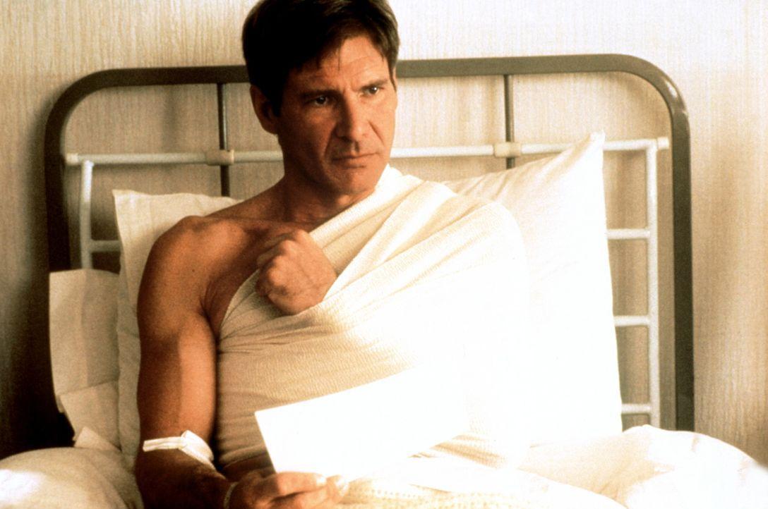 Im Visier von eiskalten Terroristen: Jack (Harrison Ford) ... - Bildquelle: Paramount Pictures
