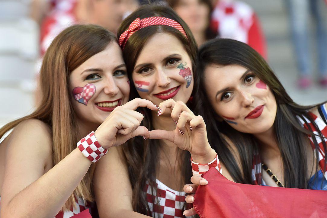 Croatian supporter_000_C785S_Georges GOBET_AFP - Bildquelle: AFP / Georges GOBET