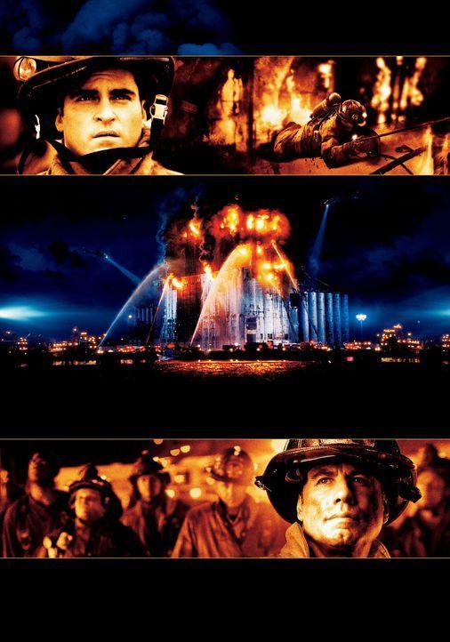 """""""Im Feuer"""" mit Joaquin Phoenix, oben und John Travolta, unten - Bildquelle: Buena Vista International.  All Rights Reserved"""