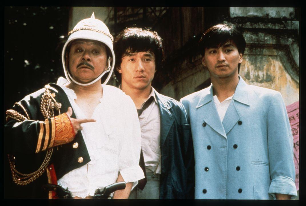 Sergeant Dragon Ma Yue Lung (Jackie Chan, m.) - Bildquelle: 1987 Paragon Films Ltd.