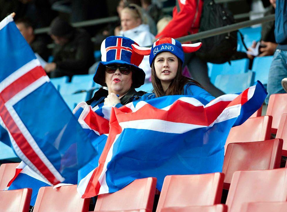 Fußball-Fan-Island-090830-AFP - Bildquelle: AFP