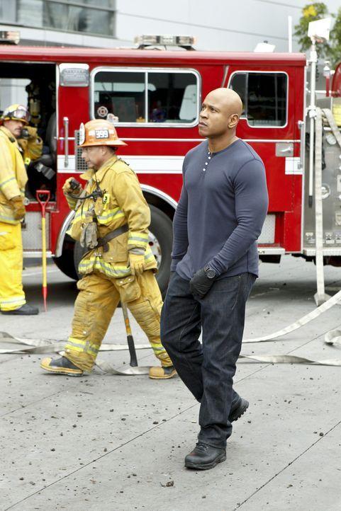 Undercover ermittelt Sam (LL Cool J) im sonnigen Kalifornien, um die nationale Sicherheit zu wahren ... - Bildquelle: CBS Studios Inc. All Rights Reserved.