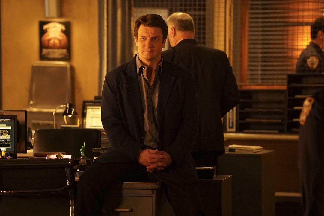 Castles (Nathan Fillion) Suche nach Beckett gestaltet sich schwieriger als gedacht ... - Bildquelle: Richard Cartwright 2015 American Broadcasting Companies, Inc. All rights reserved.