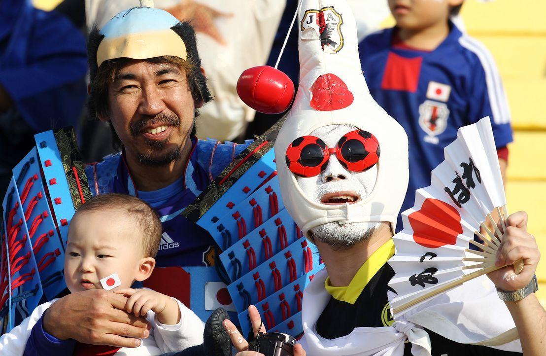 Die japanischen Fans - 4 - Bildquelle: AFP