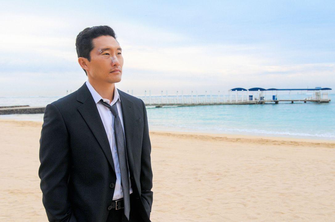 Chin Ho (Daniel Dae Kim) wird von der internen Ermittlung befragt, weil der Verdacht aufgekommen ist, dass er vor fünfzehn Jahren einen Mord vertusc... - Bildquelle: 2013 CBS BROADCASTING INC. All Rights Reserved.