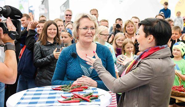 Schärfe-Queen Birgit - Bildquelle: kabel eins/  Morris Mac