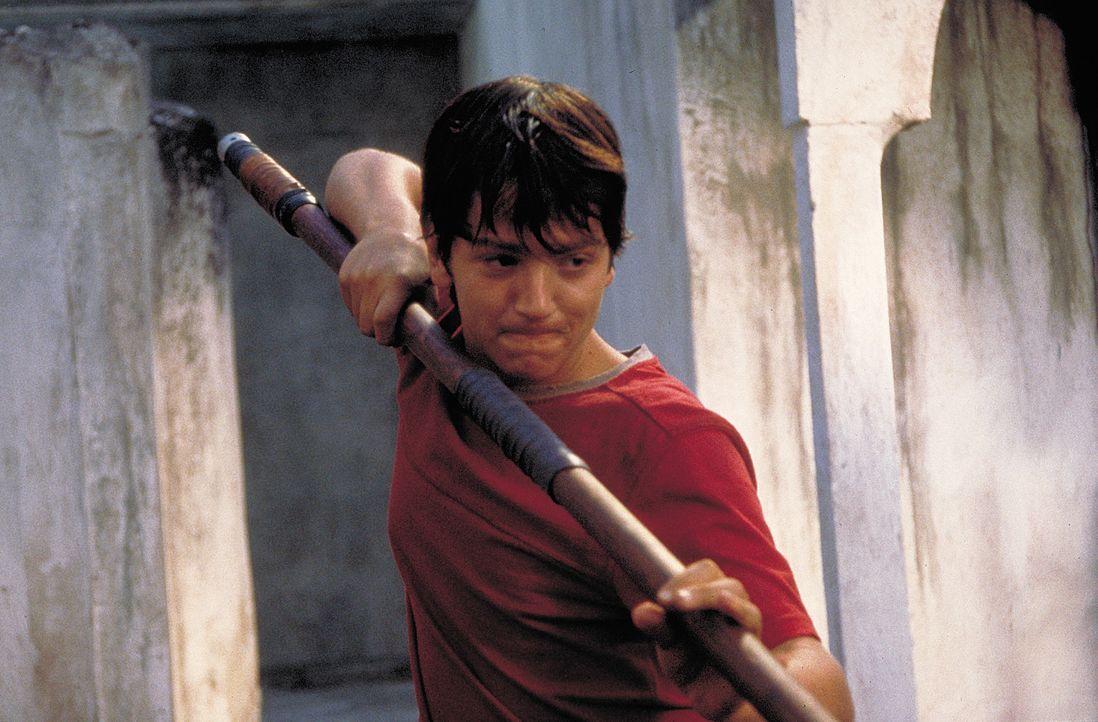 Auf der Suche nach einem Job gerät Sancho (Diego Luna) direkt in einen Vampir-Vernichtungsfeldzug ... - Bildquelle: 2004 Sony Pictures Television International. All Rights Reserved.