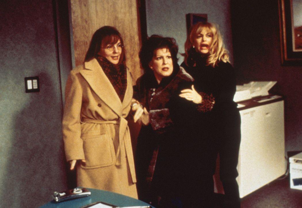Als sich eine Freundin wegen ihres treulosen Ehemannes das Leben nimmt, schwören Brenda (Bette Midler, M.), Elise (Goldie Hawn, r.) und Annie (Dian... - Bildquelle: Paramount Pictures