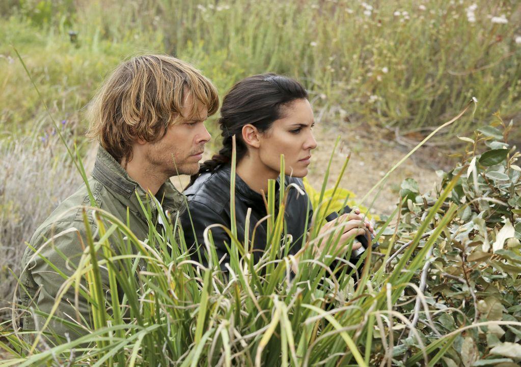 Ein neuer Fall wartet auf Deeks (Eric Christian Olsen, l.) und Kensi (Daniela Ruah, r.) ... - Bildquelle: CBS Studios Inc. All Rights Reserved.