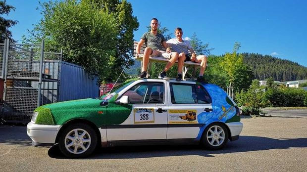 Abenteuer Leben - Abenteuer Leben - Freitag: Das Schrottauto-rennen