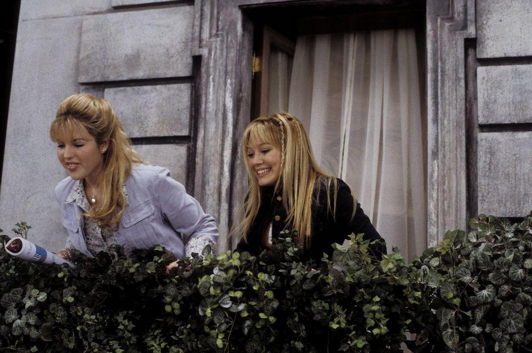 Die Klassenfahrt nimmt eine wundersame Wendung: Lizzie (Hilary Duff, r.) und Kate Sanders (Ashlie Brillault, l.) ... - Bildquelle: Rob McEwan, Philippe Antonello Buena Vista Distribution
