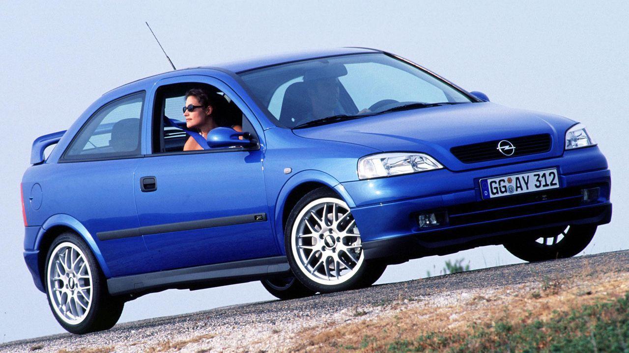 Astra G Coupé - Bildquelle: Opel