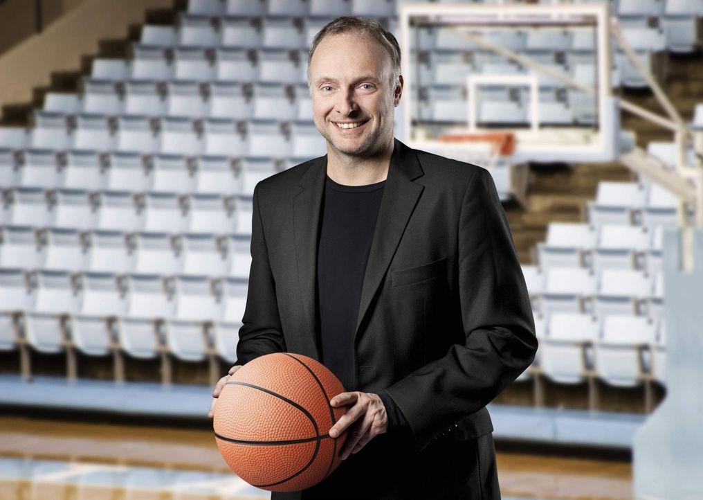 Kommentiert die Beko Basketball Bundesliga: Frank Buschmann ... - Bildquelle: Benedikt Müller kabel eins
