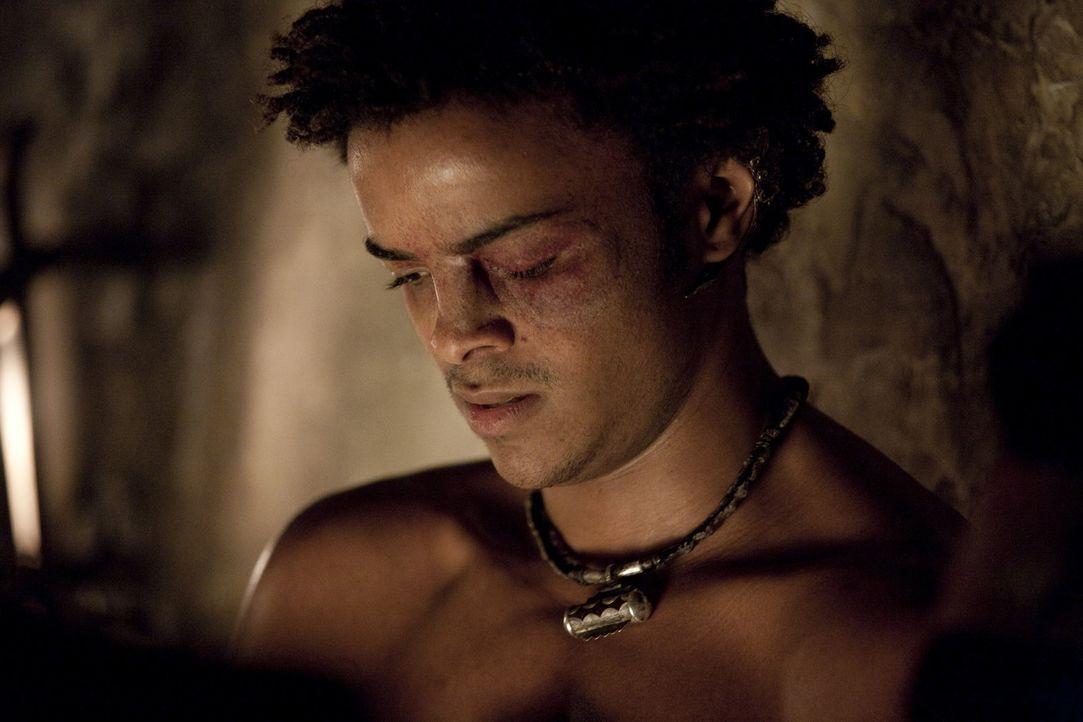 Der Pendel des Schicksals: Pietros (Eka Darville) ... - Bildquelle: 2010 Starz Entertainment, LLC